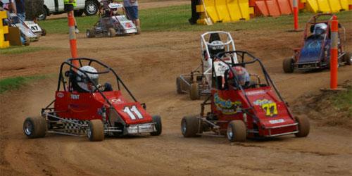 Mini indy speedway quarter midget track